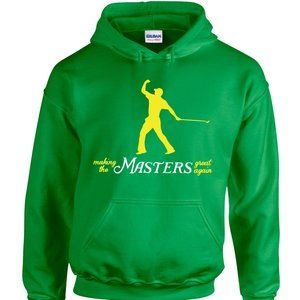 Tiger Woods Make The Masters ADULT 3XL HOODIE